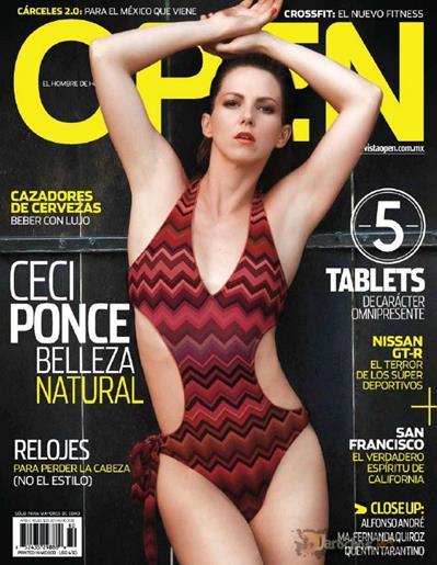 Cecilia+Ponce+Super+Hot+En+Revista+Open+Voyeurmix.net