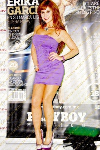 Erika+Garcia+En+Firma+De+Revista+Upskirt+voyeurmix.net