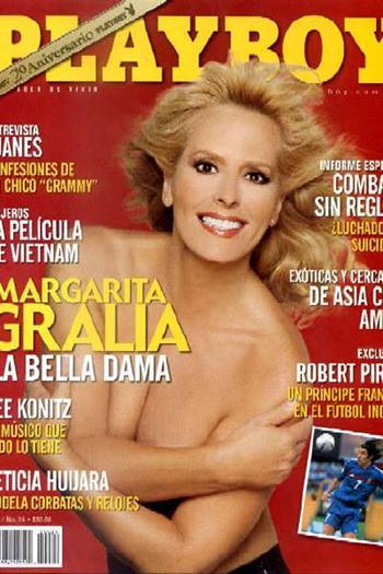 Margarita Gralia Milfl Desnuda En Revista Playboy Famosascelebshot