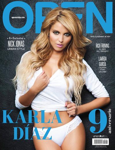 Karla+Diaz+Sexy+En+Revista+OPEN+Diciembre+2014+voyeurmix.net
