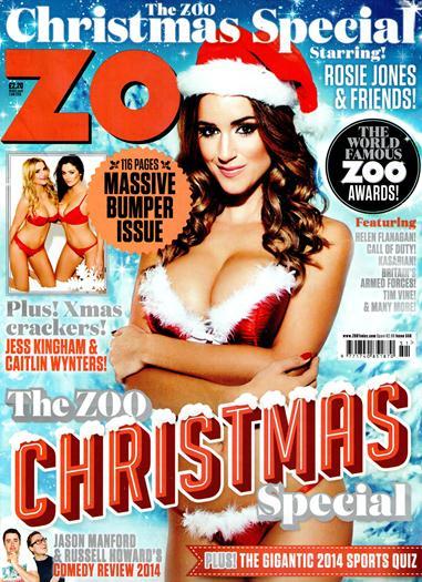 Rosie+Jones+Desnuda+En+Revista+ZOO+Dic+2014+