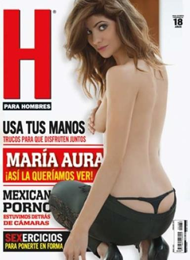 Maria+Aura+En+Revista+H+Enero+2015+voyeurmix.net