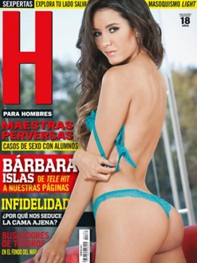 Bárbara+Islas+En+Revista+H+Febrero+2015+voyeurmix.net