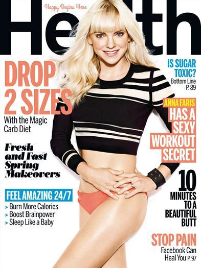 Anna+Faris+En+Revista+Health+Abril+2015+famosascelebshot.com
