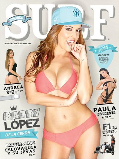 Patty+Lopez+de+la+Cerda+En+Revista+Chilanga+Surf+Marzo+Abril+2015+voyeurmix.net