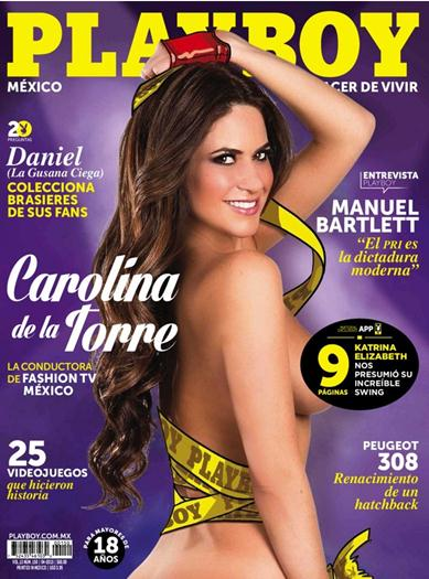 Carolina+de+la+Torre+En+Revista+PlayBoy+México+Abril+2015+Extras