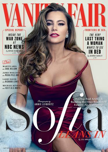Sofia+Vergara +En+Revista+Vanity+Fair+Mayo+2015