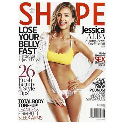 Jessica+Alba+En+Revista+Shape+Junio+2015