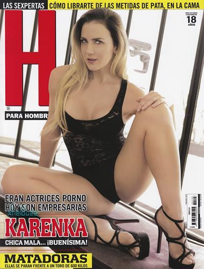 Karenka+En´+Revista+H+Junio+2015+Voyeurmix.net
