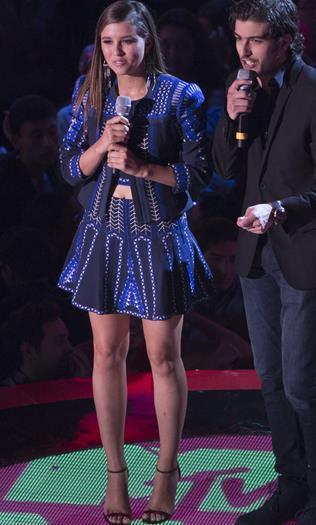 Paulina+Goto+Rica+de+Azul+En+MTV+Millenial+Awards+2015+Voyeurmix.net
