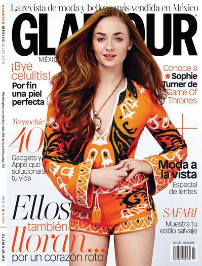 Sophie+Turner+En+Revista+Glamour+Mexico+Julio+2015+Voyeurmix.net