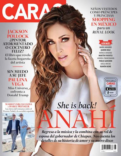 Anahi+Revista+En+Revista+Caras+Agosto+2015