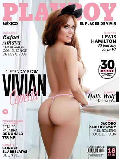 Vivian+Cepeda+En+Revista+Playboy+Mexico+Agosto+2015+Extras