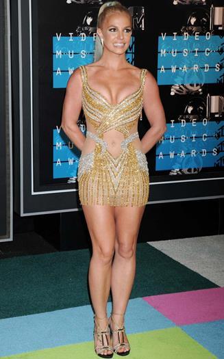 Britney+Spears+Microverstido+En+MTV+Video+Music+Awards+2015