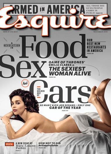Emilia+Clarke+La+mujer+más+sexy+del+mundo+En+Revista+Esquire+Oct+2015