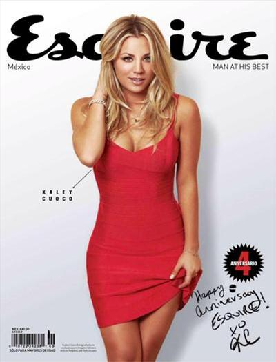 Kaley+Cuoco+En+Revista+Esquire+Mexico+Famosastv.net