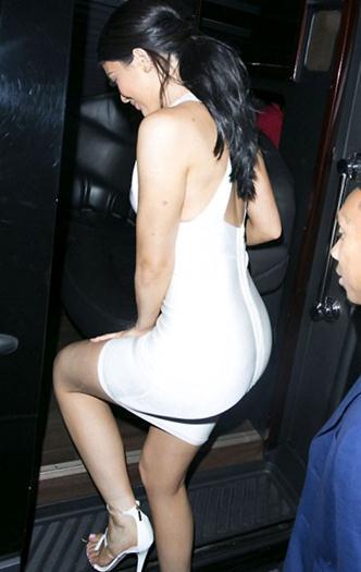 Kylie+Jenner+Super+Sexy+Vestido+Blanco+