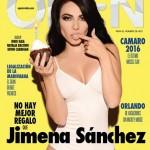 Jimena Sanchez En Revista Open Diciembre 2015