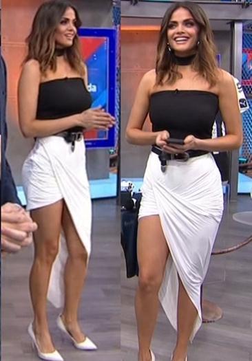Marisol.Gonzalez.Sexy.Vestido.Enseñando.Piernotas.HD.1