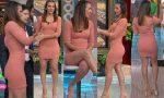 Adianez Hernandez Riquisima En Vestido Entallado HD