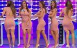 Alma Cero Culote En Sexy Vestido Entallado HD