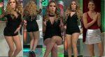 Andrea Escalona Piernotas En Microshorts Bailando! + Natalia.Valenzuela Mini HD