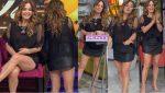 Andrea Legarreta Piernotas En Nueva Minifalda HD