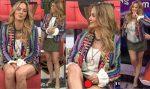 Andrea Legarreta Minifalda Verde Nuevo Upskirt Piernotas! HD