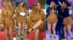 Andrea Legarreta Piernotas Bailando HD