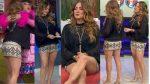 Andrea Legarreta Mas De Sus Ricas Piernotas! En Microfalda HD