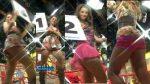 Erika Canseco + El Ballet Venga El Domingo Upskirts! HD