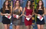 Cynthia Francesconi, Aline Hernandez y Vero Pliego Piernotas! HD