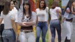 Esmeralda Pimentel Culote En Pantalon Entallado + Fabiola Guajardo Nalguitas! HD
