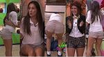 Gaby Carrillo Piernotas En Minishorts Empinada! HD