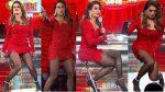 Galilea Montijo Minivestido Rojo Piernotas! HD