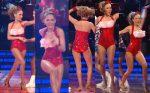Geraldine Bazán Rica Nalgona En Body Bailando! HD