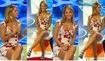 Ines Sainz Piernotas En Microvestido Blanco HD