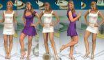 Ines Sainz Sexy Dos Minivestidos! (Cuerpo Tecnico) HD