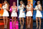 Ines Sainz Piernotas En Vestido Blanco! HD