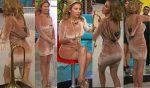 Ingrid Coronado Nalgotas En Vestido Corto HD