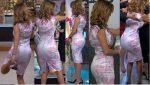 Ingrid Coronado Culote En Sexy Vestido Rosado! HD