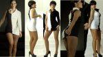 Jenny Garcia Piernotas En Minivestido Hot! HD