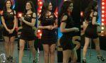 Mariangela Meotti En Microvestido Negro Piernotas! HD