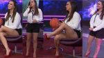 Mariazel Olle Tremendas Piernotas En Shorts! HD