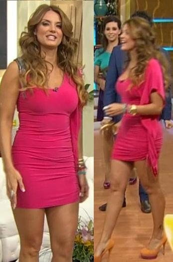 Maritere.Sexy.Vestido.Rojo.Entallado.29.Mayo.2012.HDTV..1