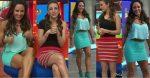 Nahima Choura y Rebeca Rubio Minifaldas Piernotas!! HD