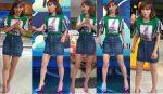 Natalia Téllez Piernitas En Minifalda De Mezclilla HD