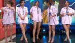 Natalia Téllez Piernotas Minifalda Rosa! HD