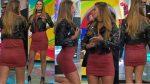 Natalia Valenzuela Ricas Piernotas En Minivestido Entallado HD