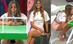 Natalia Valenzuela Piernotas Upskirt! HD